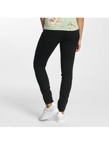 JACQUELINE de YONG Damen Skinny Jeans High Holly in schwarz