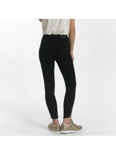JACQUELINE de YONG Damen Skinny Jeans jdySkinny in schwarz