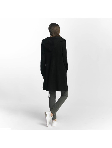 JACQUELINE de YONG Damen Strickjacke jdySoldier in schwarz