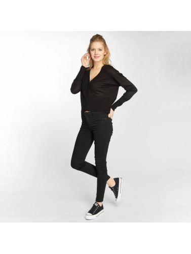 JACQUELINE de YONG Damen Strickjacke jdyMore in schwarz