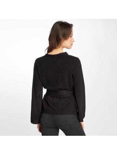 JACQUELINE de YONG Damen Strickjacke jdyBella in schwarz