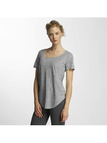 JACQUELINE de YONG Damen T-Shirt jdyLinette in grau