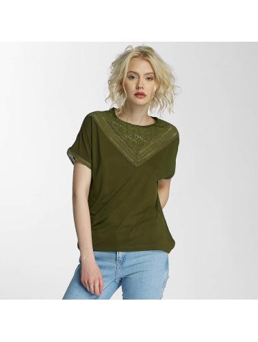 JACQUELINE de YONG Damen T-Shirt jdyCarly in olive