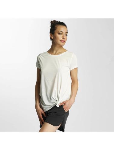 JACQUELINE de YONG Damen T-Shirt jdyNoho Knot in weiß