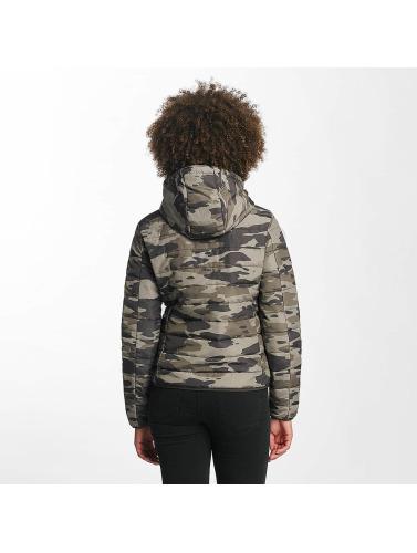 JACQUELINE de YONG Damen Übergangsjacke jdyAsh in camouflage