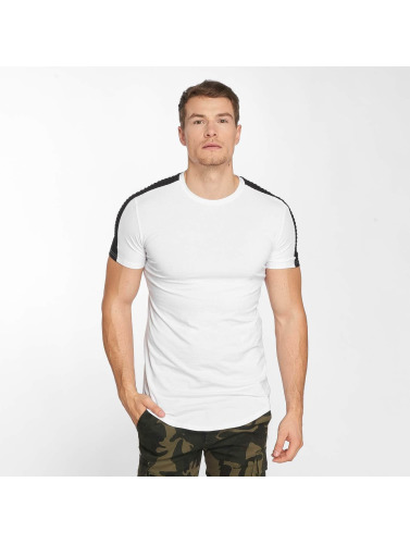 John H Hombres Camiseta Jonas in blanco