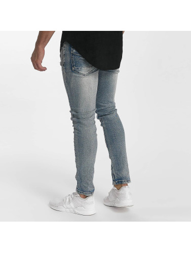 Destroyed ajustado in Hombres John azul Jeans H tqwpnIqxzS