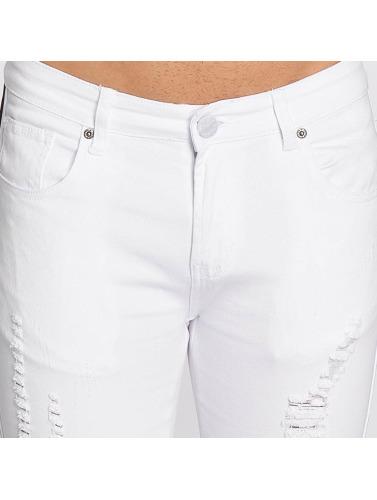 John H Hombres Jeans ajustado Logan in blanco