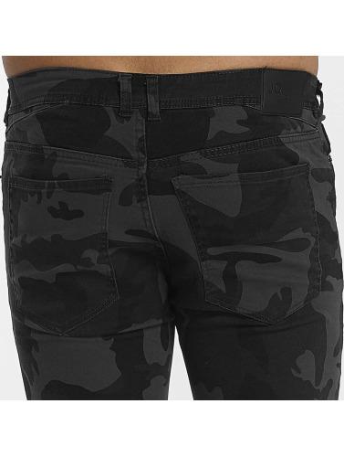 Hombres camuflaje H John in Jeans ajustado Camo wnR4fPqT5