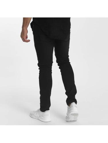John H Hombres Jeans ajustado Highlife in negro
