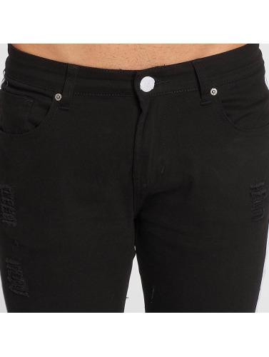 John H Hombres Jeans ajustado Logan in negro