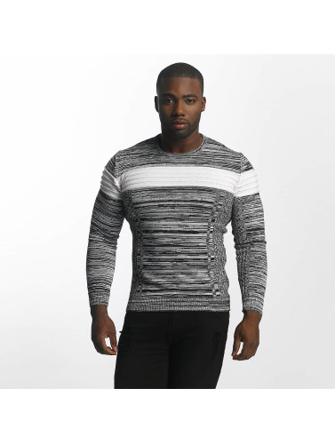 John H Hombres Jersey Knit in gris
