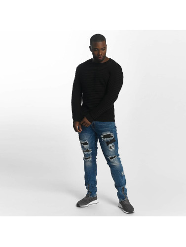 John H Hombres Jersey Knit in negro