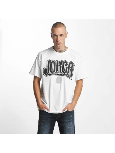 Joker Hombres Camiseta Jokes in blanco