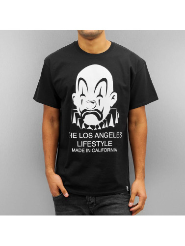 Joker Herren T-Shirt Lifestyle in schwarz