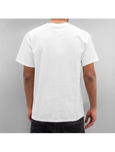 Joker Herren T-Shirt Tattoo Shop in weiß