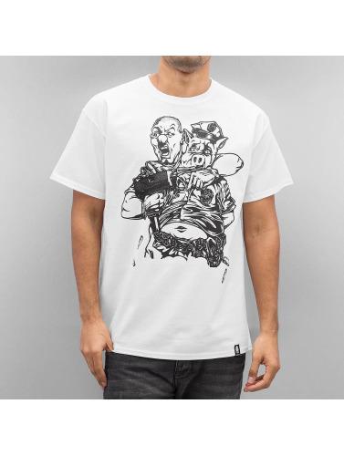 Joker Herren T-Shirt Pigs in weiß