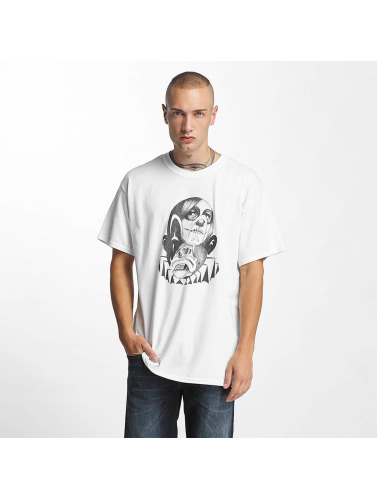 Joker Herren T-Shirt Head in weiß