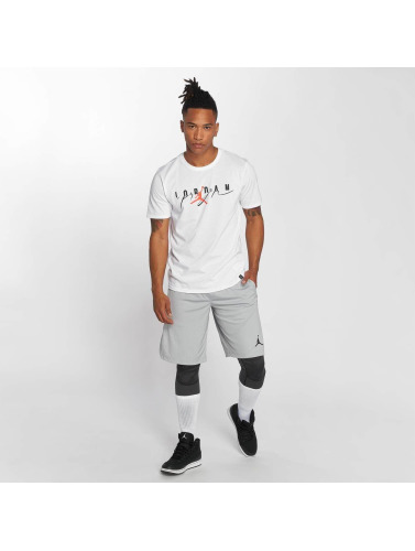 Jordan Hombres Camiseta Flight Mash Up GX in blanco