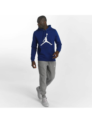 Jordan Herren Hoody Flight Fleece Jumpman Air in blau