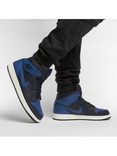 Jordan Herren Sneaker 1 Mid in blau