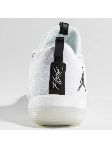 Jordan Herren Sneaker Super Fly Low Basketball in weiß