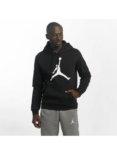Jordan Hombres Sudadera Flight Fleece Jumpman Air in negro