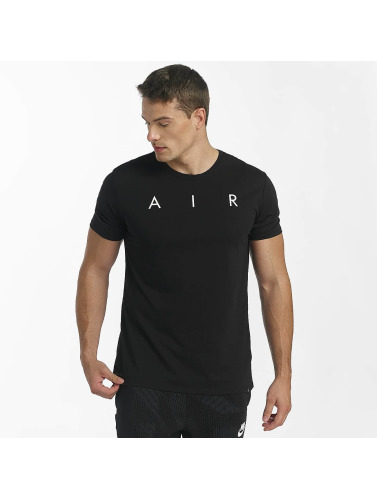 Jordan Herren T-Shirt Rise Photo Basketball in schwarz