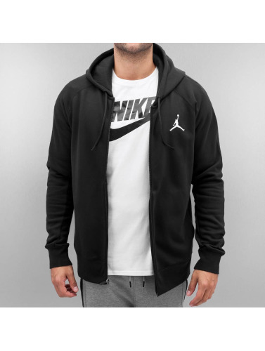 Jordan Herren Zip Hoodie Flight in schwarz