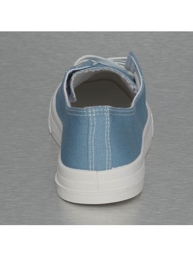Jumex Damen Sneaker Basic Low in blau