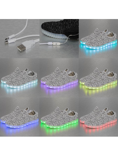 Jumex Damen Sneaker LED Sport in grau
