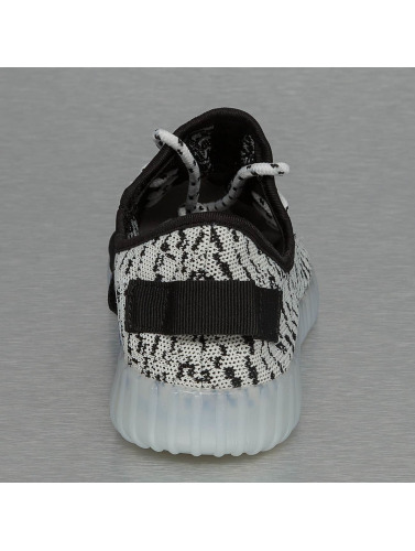 Jumex Damen Sneaker LED Sport in weiß