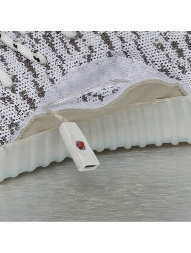 Jumex Mujeres Zapatillas de deporte LED Sport in gris