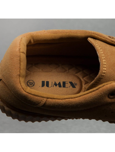 Jumex Mujeres Zapatillas de deporte Basic Plateau in marrón