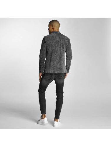 Just Rhyse Hombres Camisa Enndris in gris