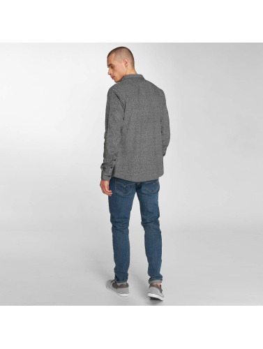 Just Rhyse Hombres Camisa mono in gris