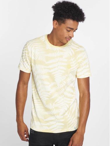 Just Rhyse Hombres Camiseta Zorritos in amarillo