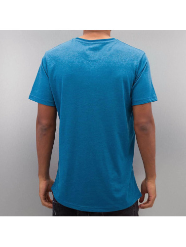 Just Rhyse Hombres Camiseta Snow in azul