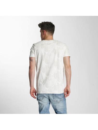 Just Rhyse Hombres Camiseta Tionesta in blanco