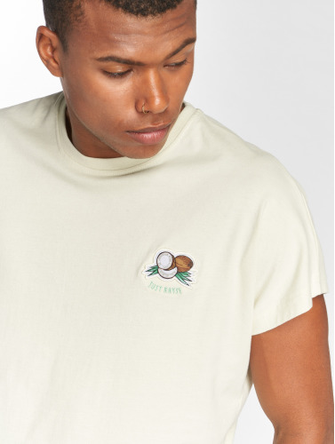 Just Rhyse Hombres Camiseta Catacaos in blanco