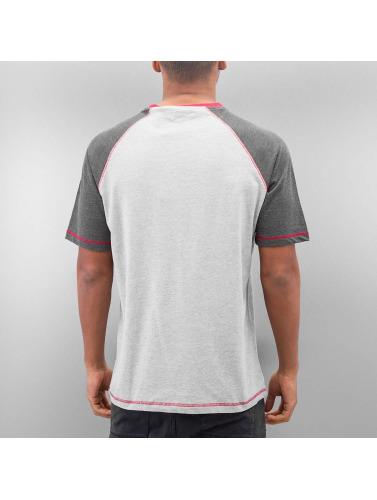 Just Rhyse Hombres Camiseta Maurus in gris