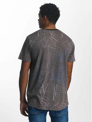 Just Rhyse Hombres Camiseta Palmdale in gris