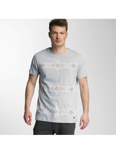 Just Rhyse Hombres Camiseta Wyntoon in gris