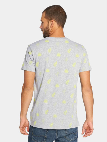 Just Rhyse Hombres Camiseta Zepita in gris