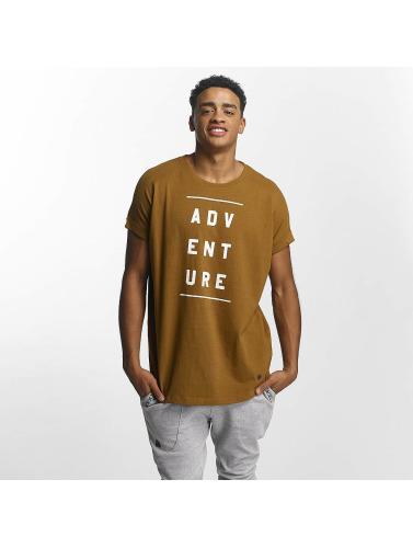 Just Rhyse Hombres Camiseta Tenakee in marrón