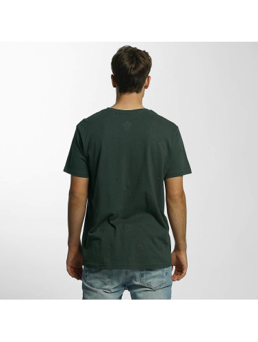 Just Rhyse Hombres Camiseta Cedarville in verde