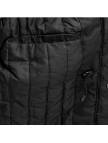 Just Rhyse Hombres Chaqueta de invierno Winter in negro