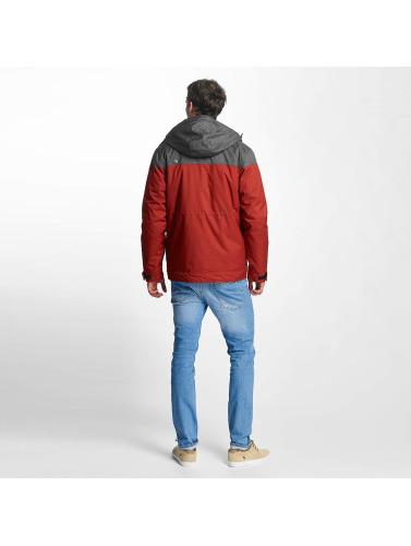 Just Rhyse Hombres Chaqueta de invierno Warin in rojo