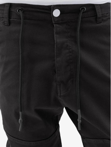 Just Rhyse Herren Chino Börge in schwarz