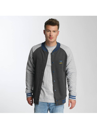 Just Rhyse Herren College Jacke Clearlake in grau